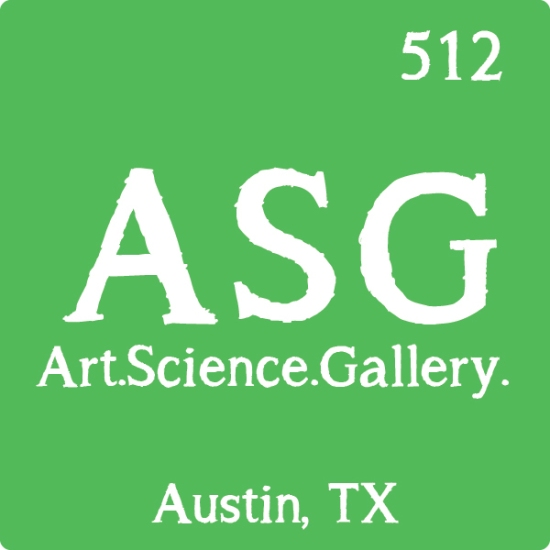 Art.Science.Gallery. is an innovative new art gallery, science communication training center and (soon-to-be) event space featuring science-related art  in Austin, Texas!